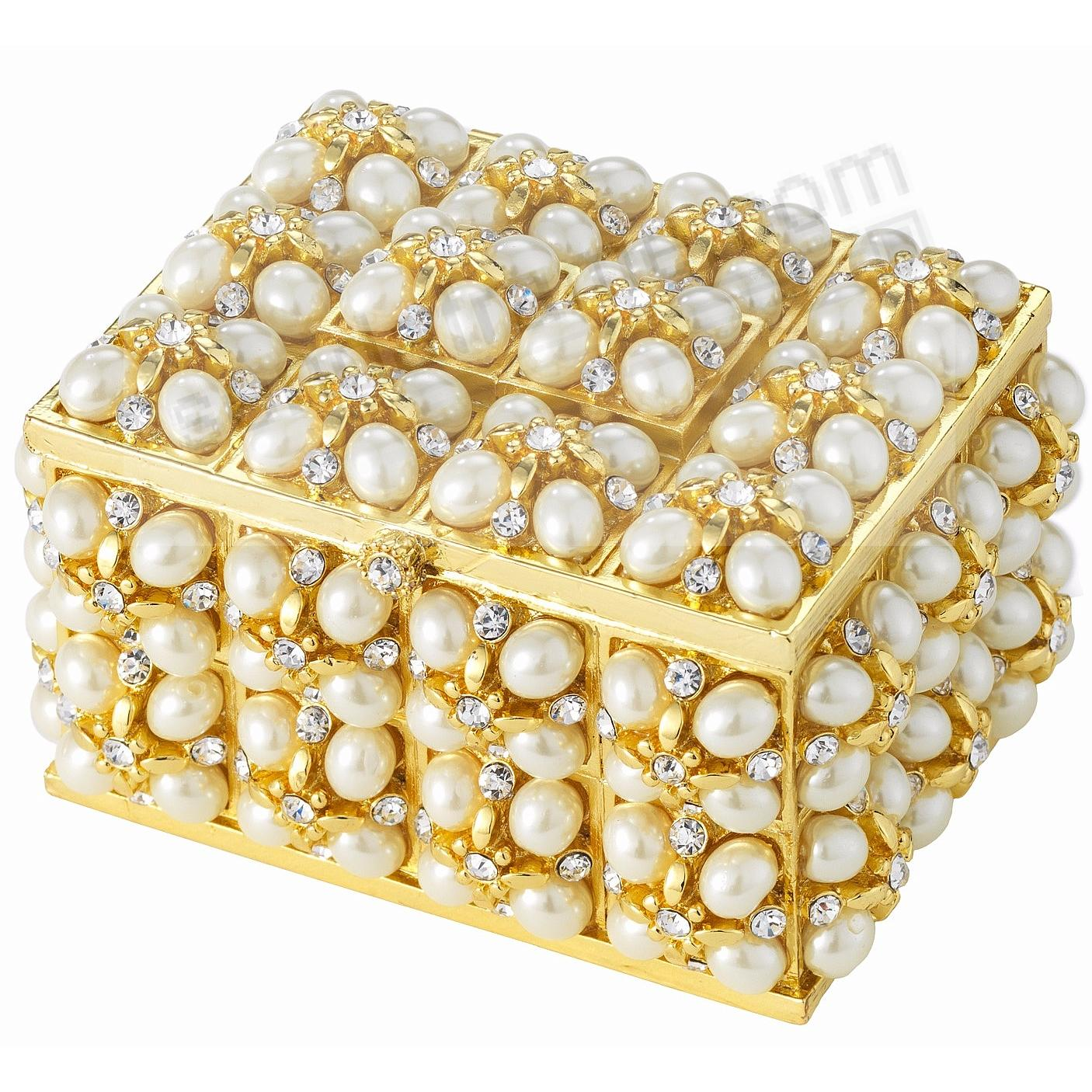 The EMILY PEARL + CRYSTAL BOX by Olivia Riegel®
