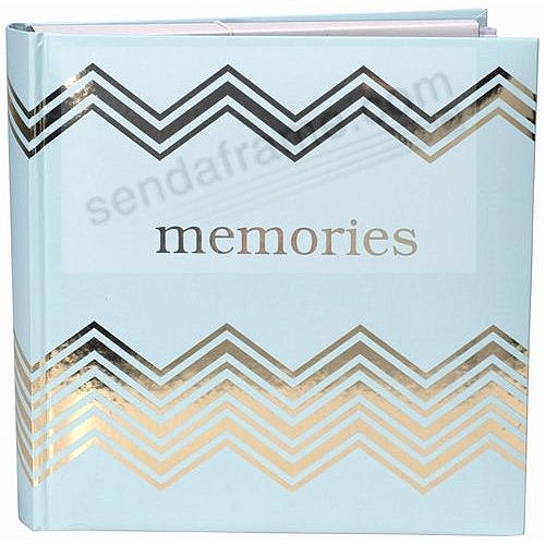MEMORIES Gold + Teal Album by Malden® holds 160 photos