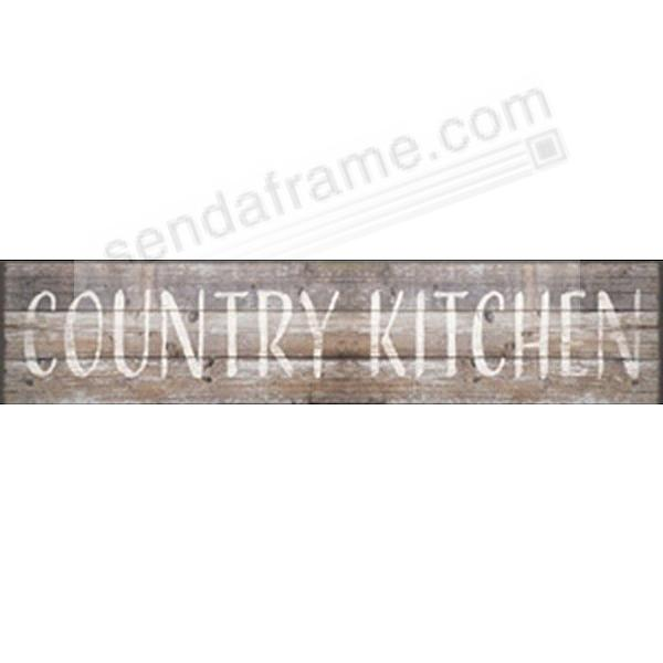 country kitchen 18x4 distressed wood box sign by sixtrees picture