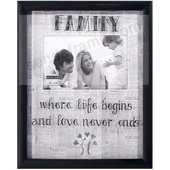 FAMILY Newprints Reflection Frame