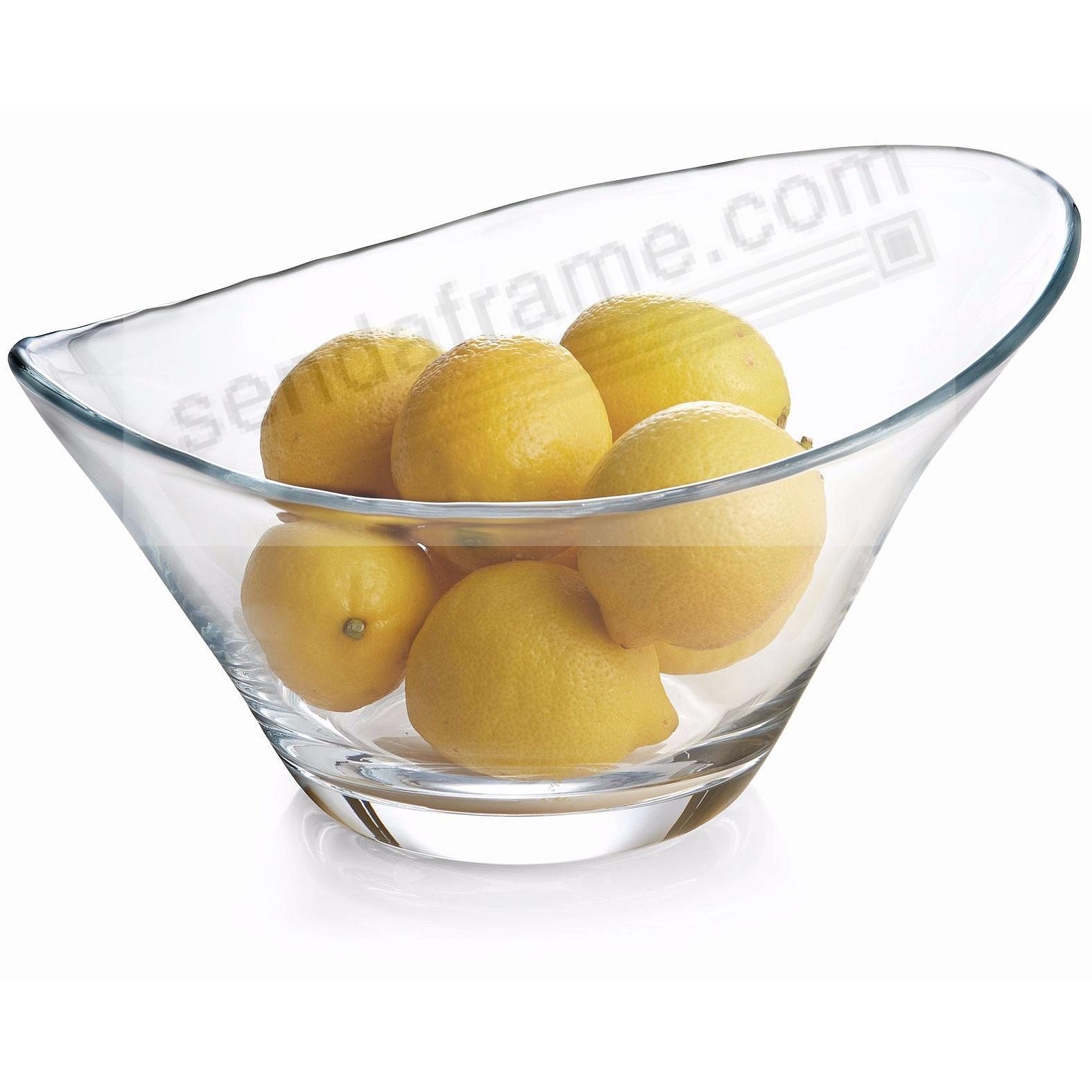 The MODERNE GLASS 12-inch SALAD BOWL by Nambe®
