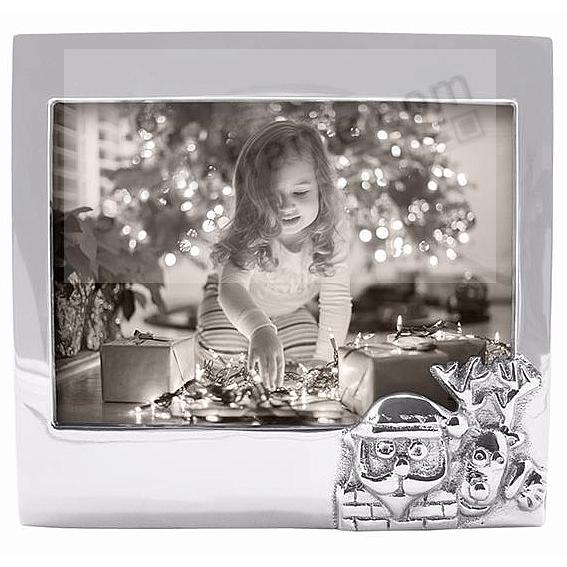 The original SANTA + REINDEER frame for 7x5 photos crafted by Mariposa®