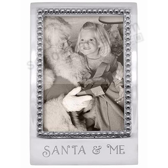 SANTA + ME Statement frame crafted by Mariposa®