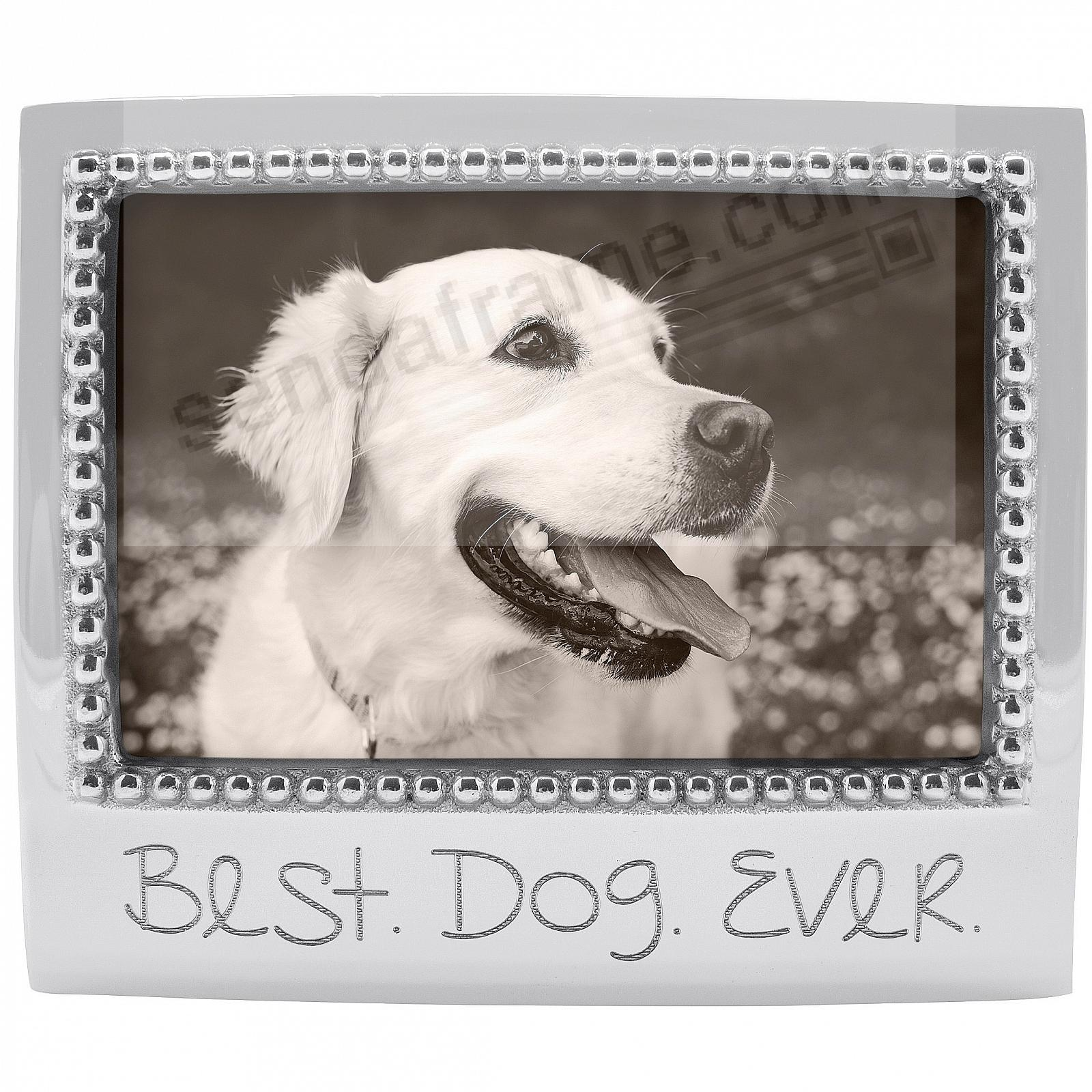 The original BEST. DOG. EVER. frame for 6x4 photos crafted by Mariposa®