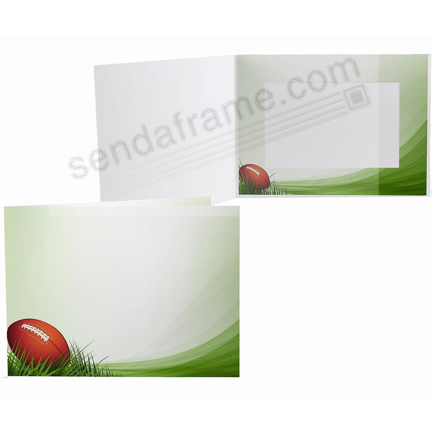 FOOTBALL FIELD Cardboard Photo Folder for 6x4 prints - Picture ...