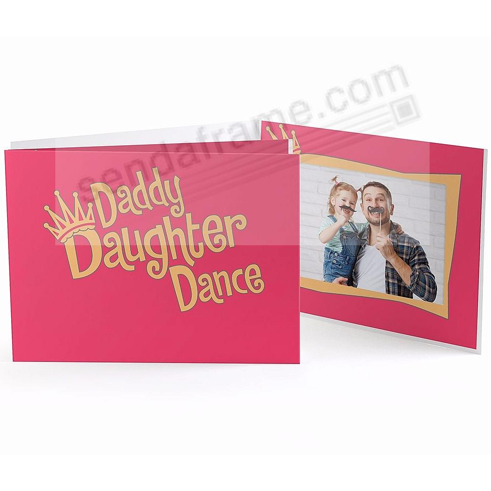 Our Colorful DADDY DAUGHTER DANCE 7x5 Photo Folder - Picture Frames ...