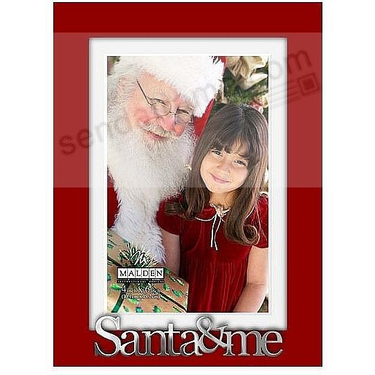 santa me red expressions frame 5x74x6 by malden design