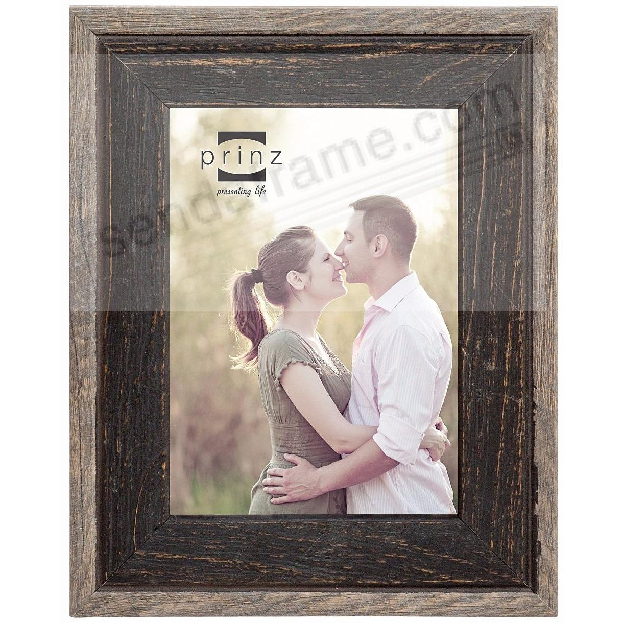 BRYCE BLACK/NATURAL Wood 4x6 Frame by Prinz® - Picture Frames, Photo ...