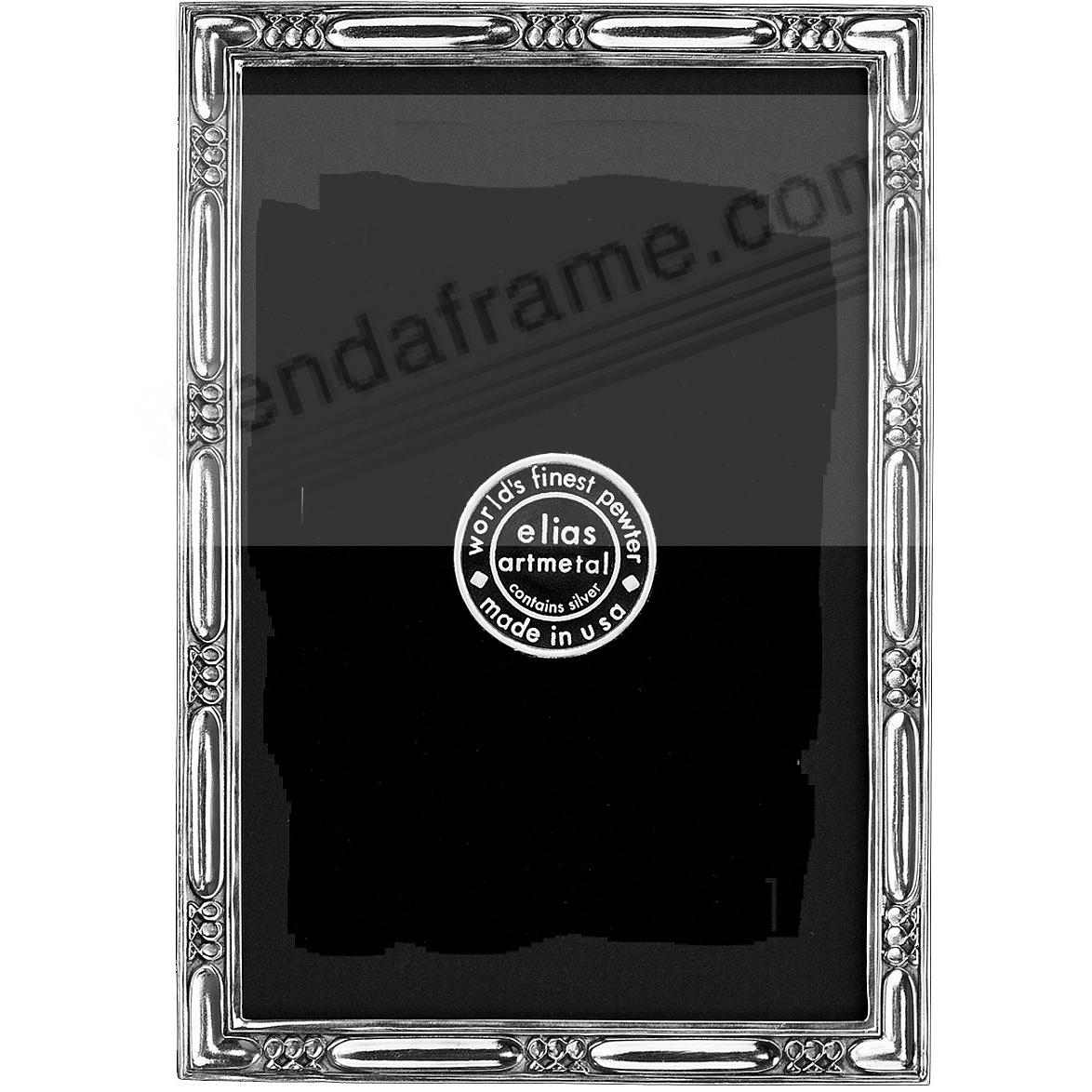 LAKESIDE luxe silvered fine pewter 2x3 by Elias Artmetal®