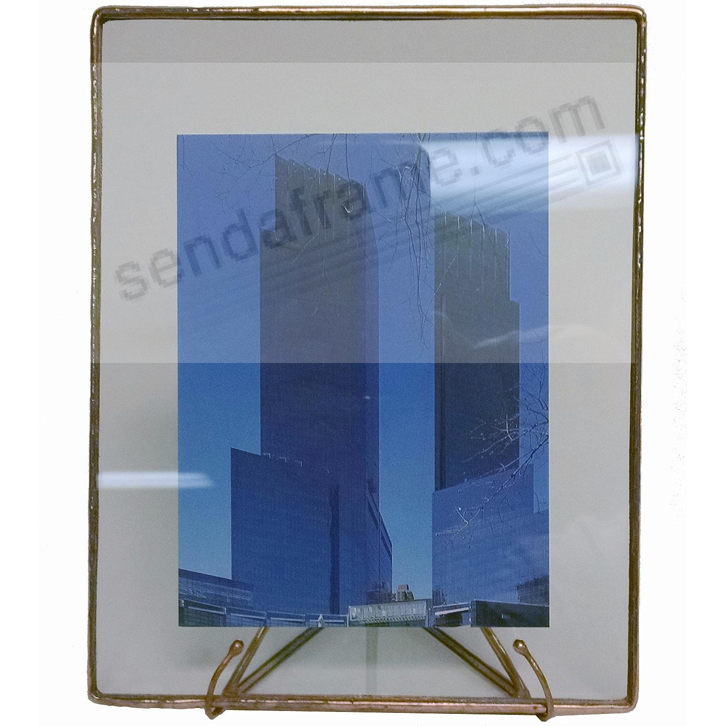 COPPER + CLEAR GLASS Float Frame 5½x7/4x6 by Bedford Downing®