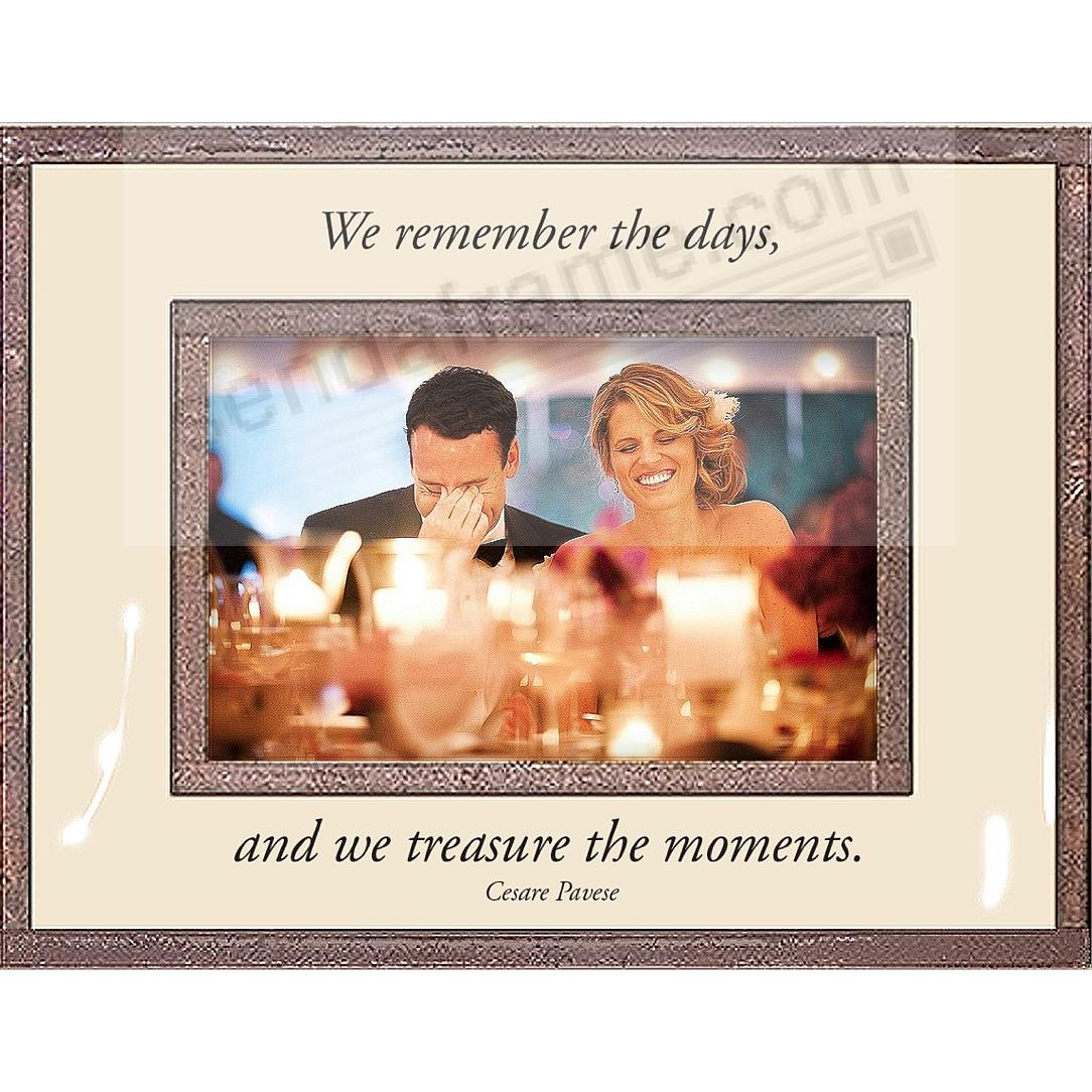 WE REMEMBER THE DAYS... Copper + Clear Glass by Ben's Garden®