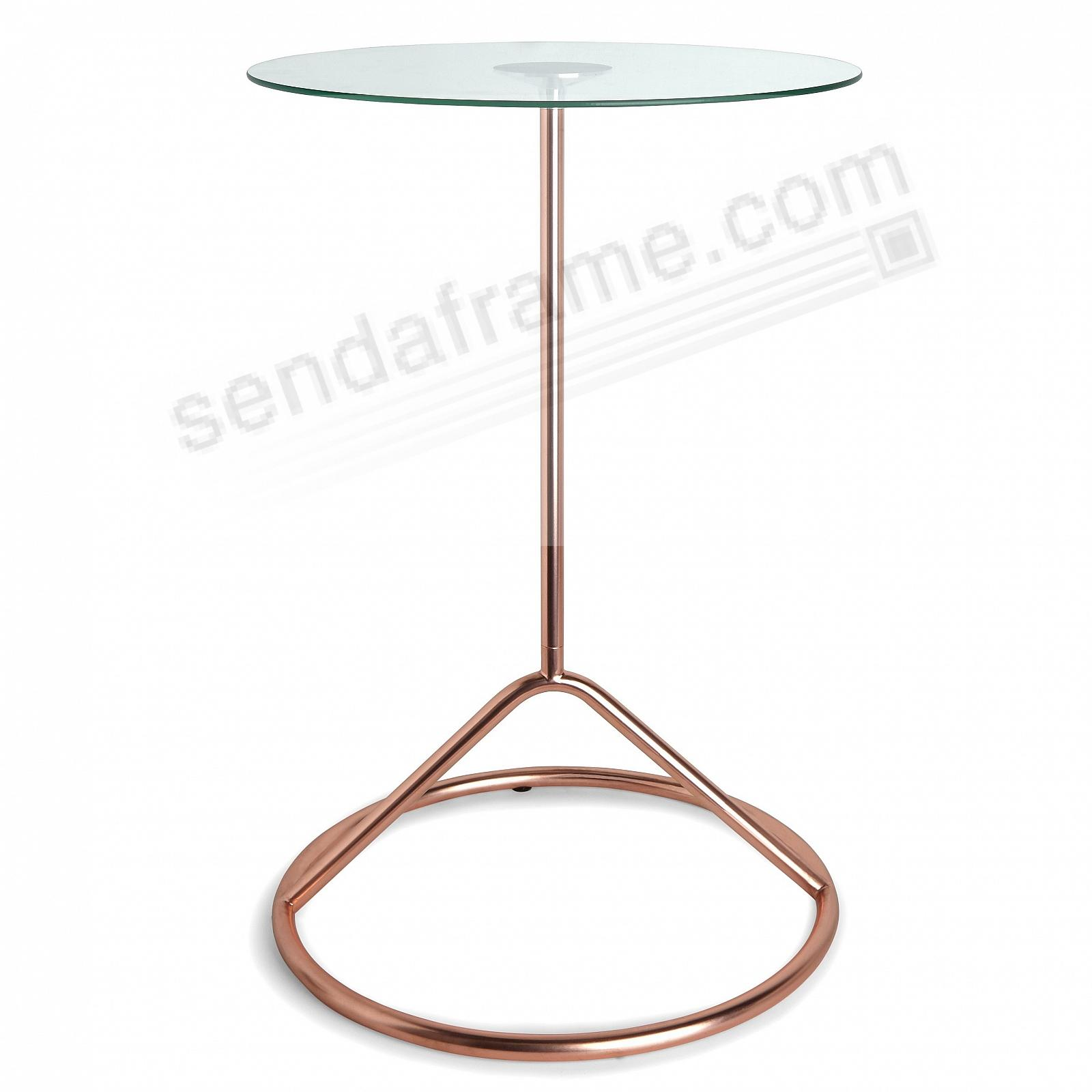 The Original LOOP SIDE Copper Side Table by Umbra+®