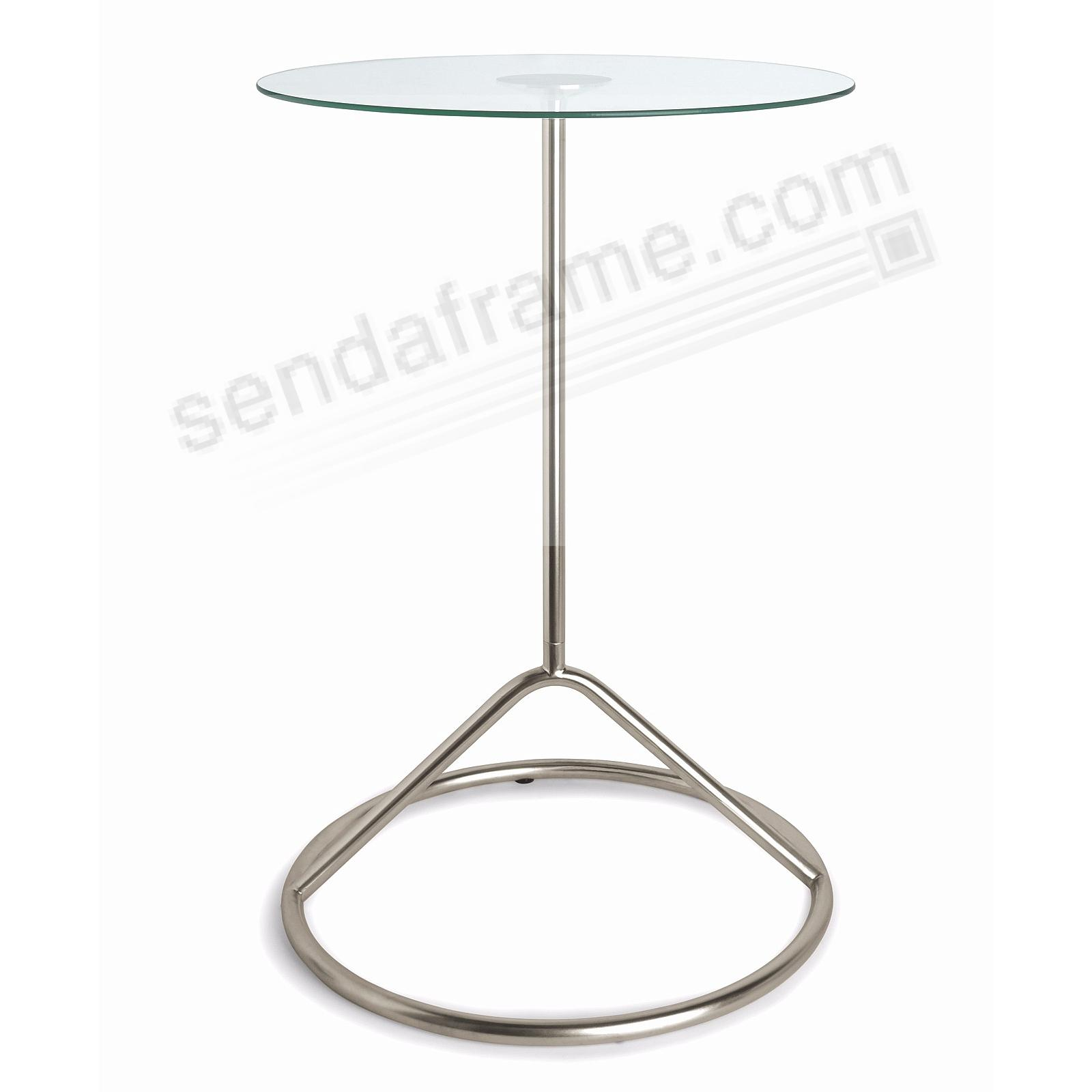 The Original LOOP SIDE Nickel Side Table by Umbra+®