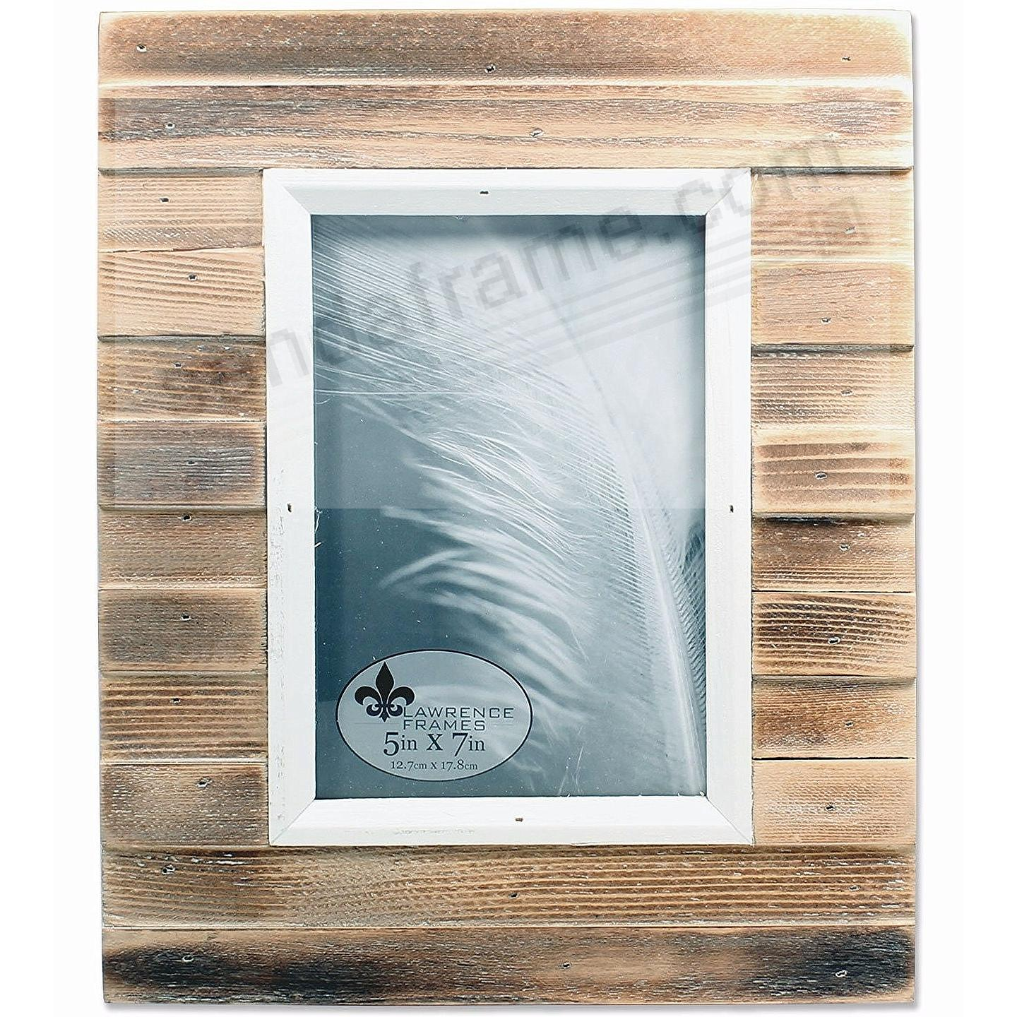 Natural Weathered PICKET FENCE 5x7 frame by Lawrence®