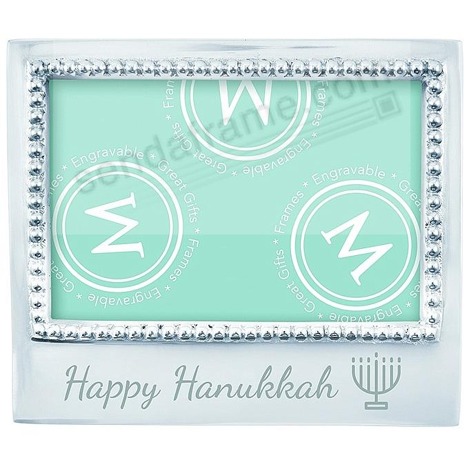 The original HAPPY HANUKKAH Statement frame crafted by Mariposa ...