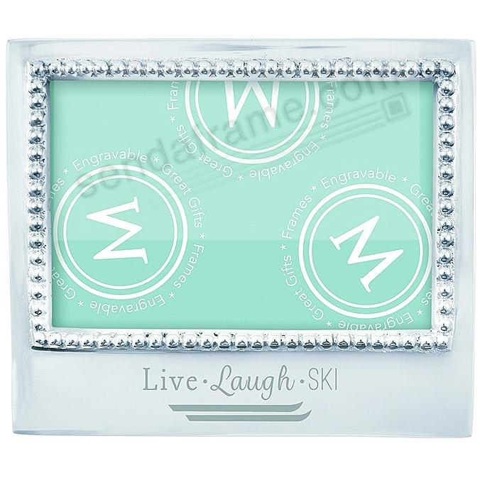 The original LIVE - LAUGH - SKI Statement frame crafted by Mariposa ...