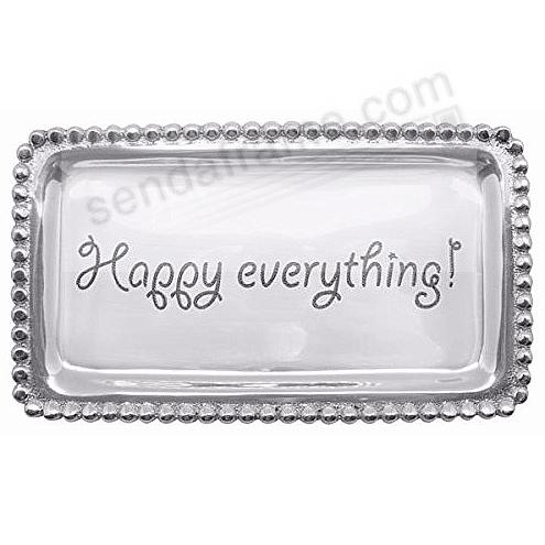 The original HAPPY EVERYTHING! STATEMENT TRAY crafted by Mariposa®