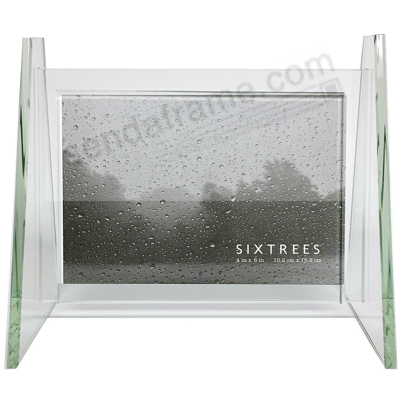 MILAN glass frame w/Side Rail Stand for your 6x4 print by Sixtrees ...