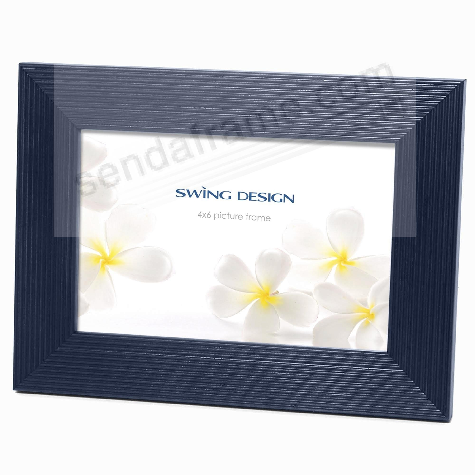 The Original LINIA NAVY-BLUE Solid Wood 4x6 frame by Swing Design ...