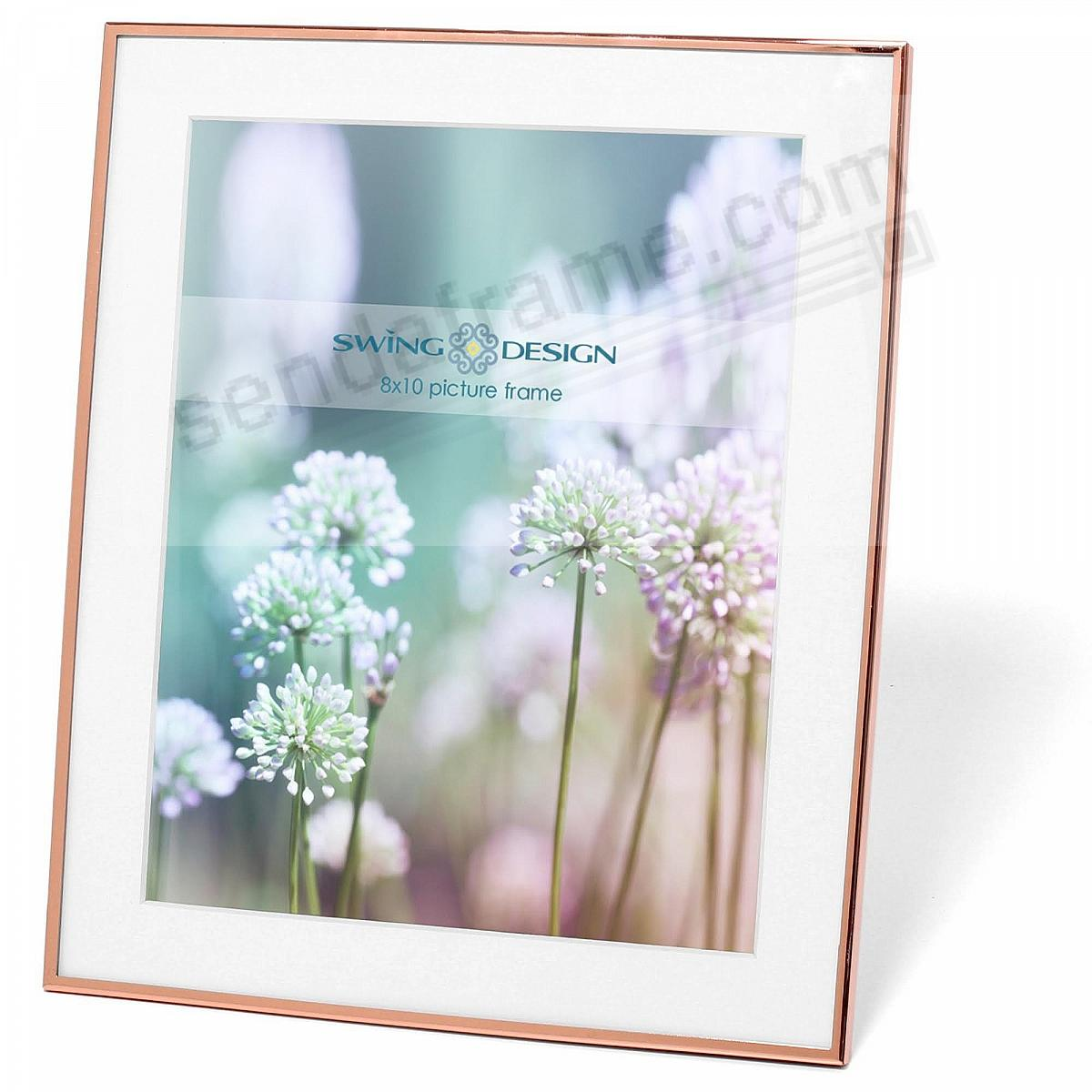 8x10 picture frames gold the original essex rose gold 8x10 frame by swing design