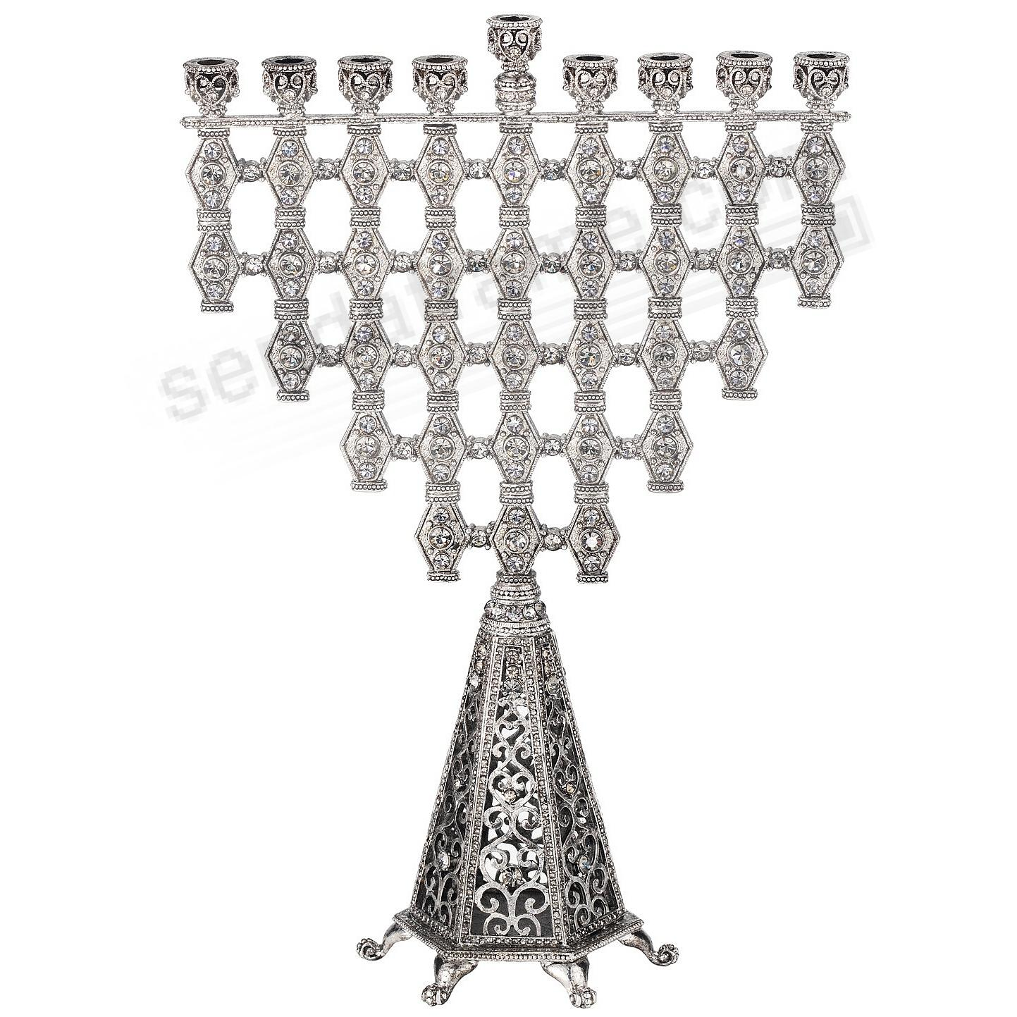 The ZIVA CRYSTAL MENORAH by Olivia Riegel®