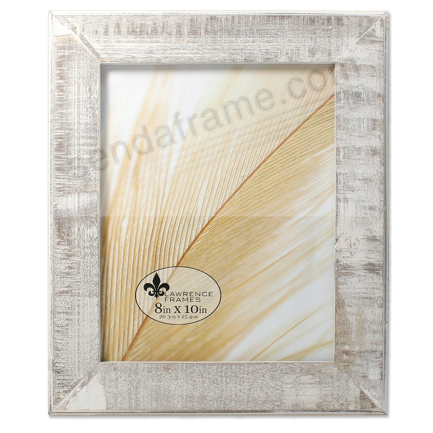 Weathered gray wash wood 8x10 frame by lawrencer picture for Engraved digital photo frame