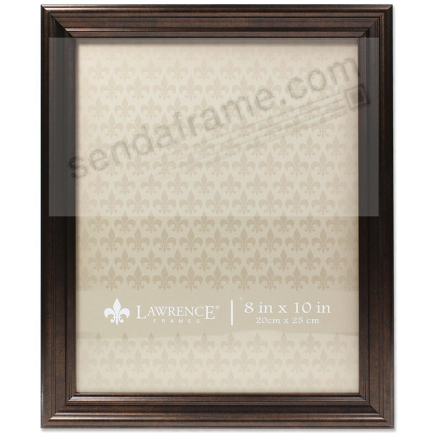 Burnished Bronze Ridged 8x10 frame by Lawrence Frames®