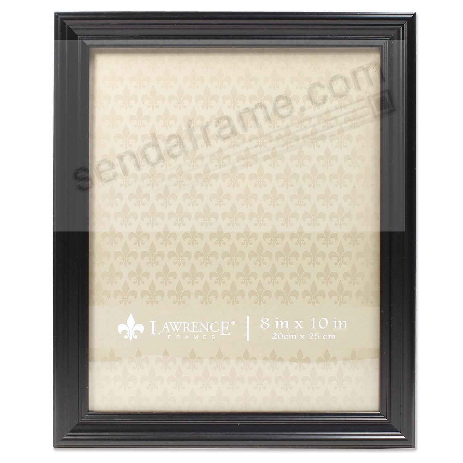 Classic Black Ridged 8x10 frame by Lawrence Frames®