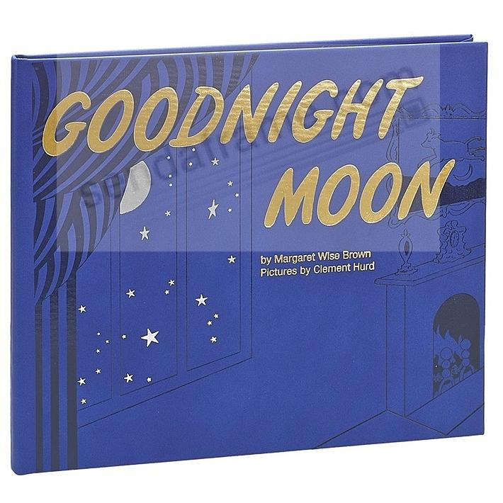 GOODNIGHT MOON Keepsake Edition In Hand-Tooled Luxe Leather