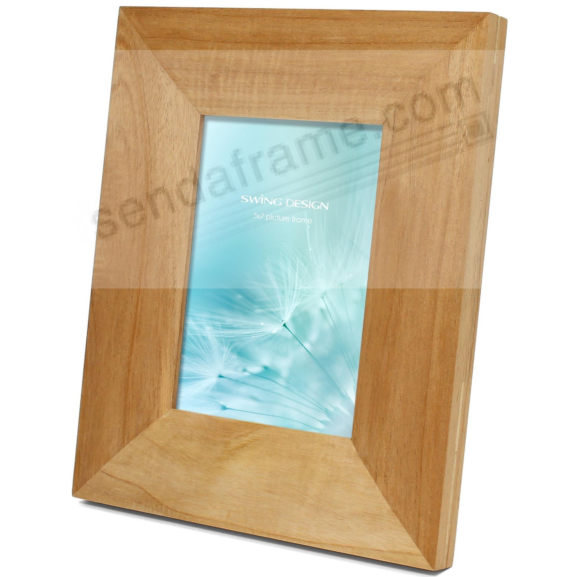 The ARTISAN Natural Solid MARAGOSA 5x7 frame by Swing Design®