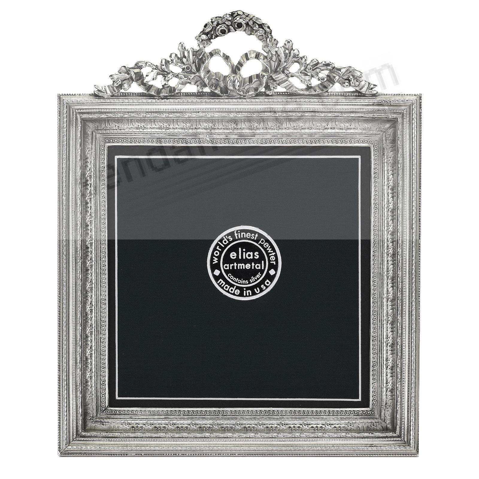 NEO-CLASSICAL SQUARE 5x5/4½x4½ Fine Silvered Pewter by Elias Artmetal®
