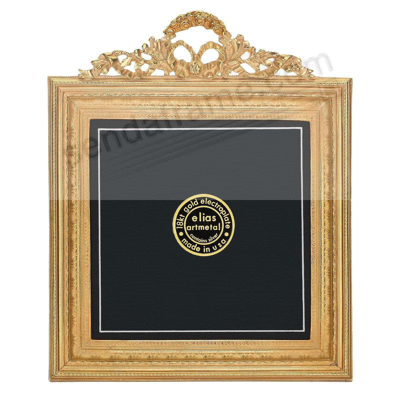 NEO-CLASSICAL SQUARE 18kt Gold Vermeil Over Fine Pewter 5x5/4½x4½by Elias Artmetal®