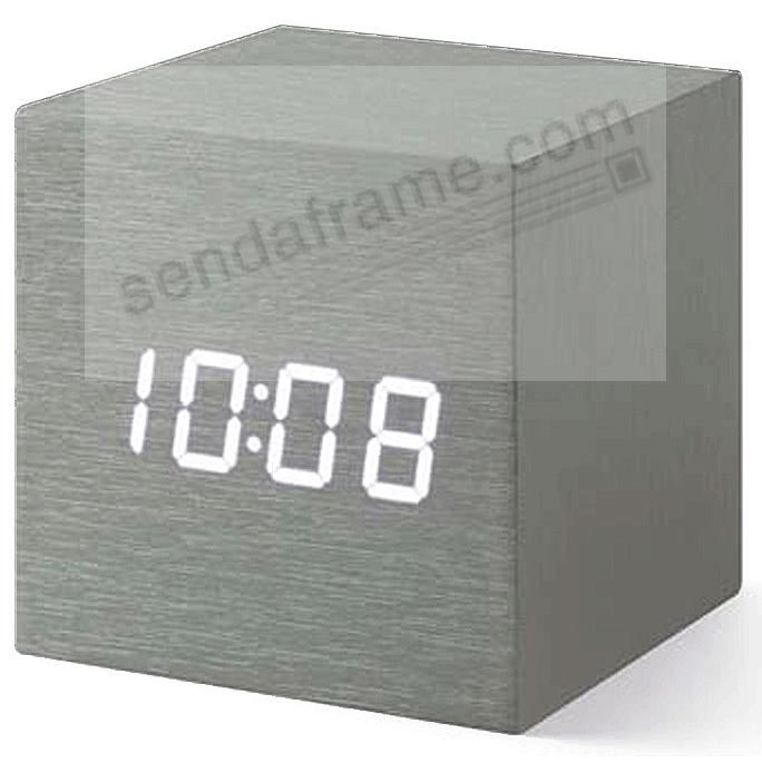 The original ALUME CUBE CLOCK from the MoMA® Collection