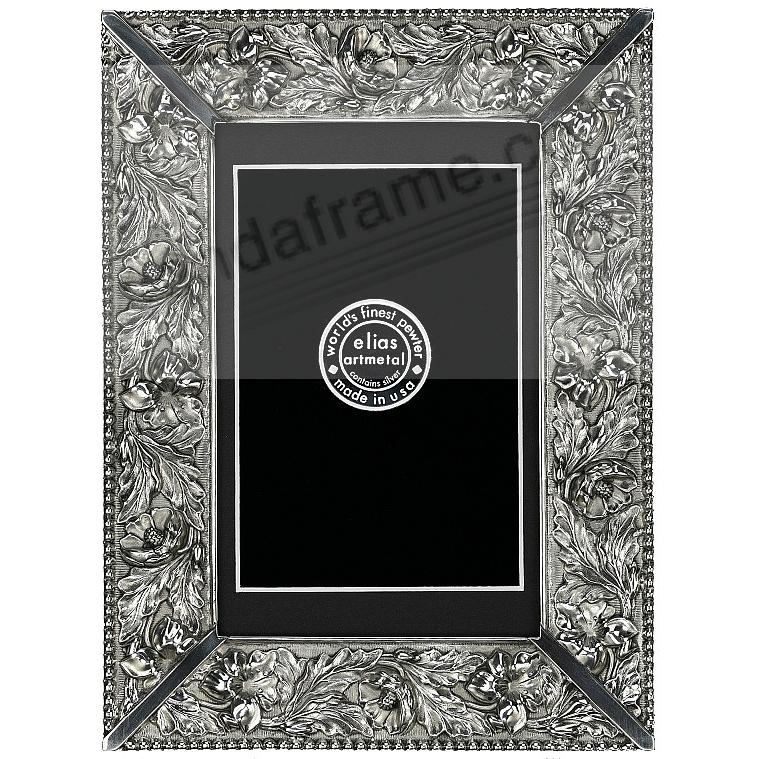 GARDEN FLOWERS Fine Pewter 11x14/8½x11 by Elias Artmetal®