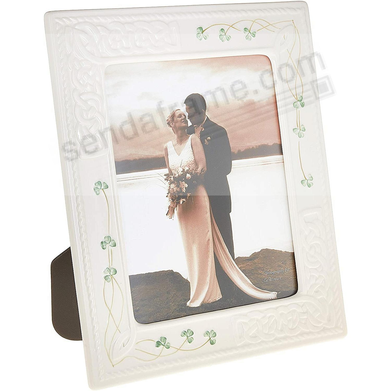 TARA shamrocks & hearts Irish porcelain<br>by Belleek&reg;