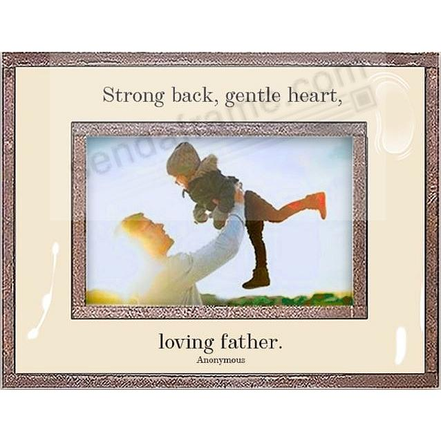 LOVING FATHER Copper + Clear Glass by Ben's Garden®