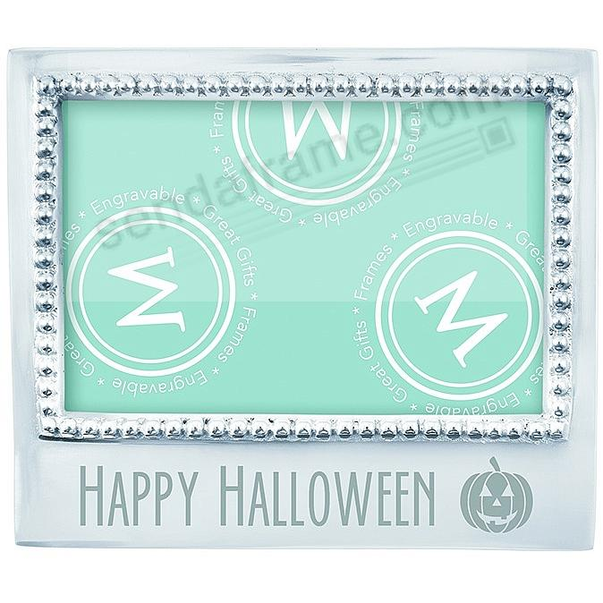 HAPPY HALLOWEEN Statement frame crafted by Mariposa®