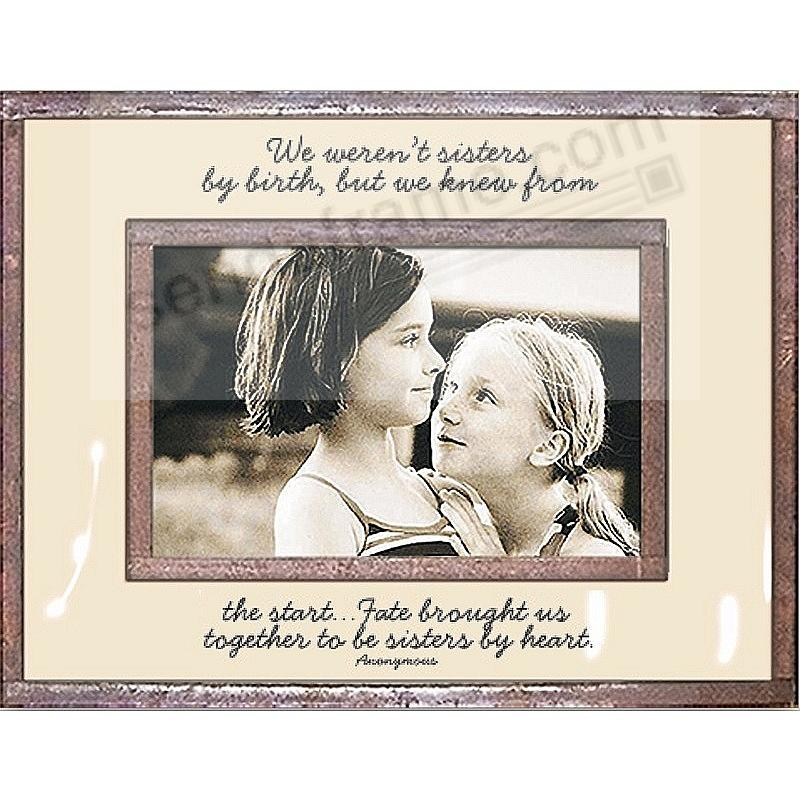 ...SISTERS BY HEART Copper + Clear Glass by Ben's Garden®