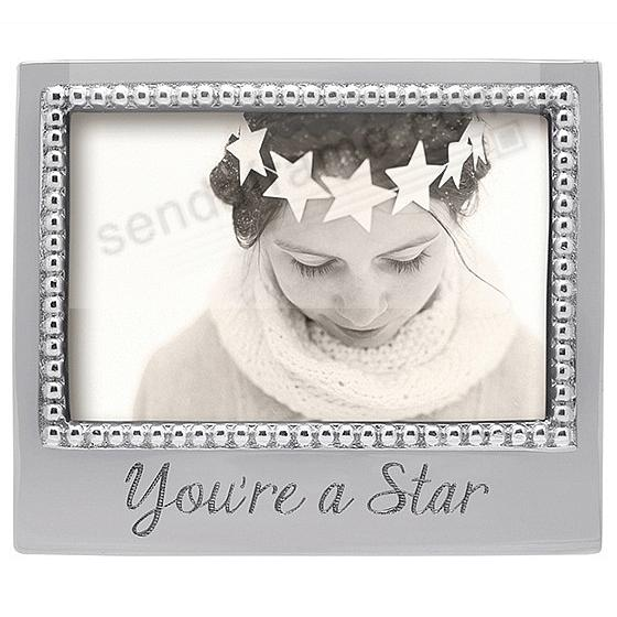 YOU'RE A STAR Statement frame crafted by Mariposa®
