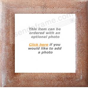 Exotic ostrich leather keepsake by Seaman Schepps