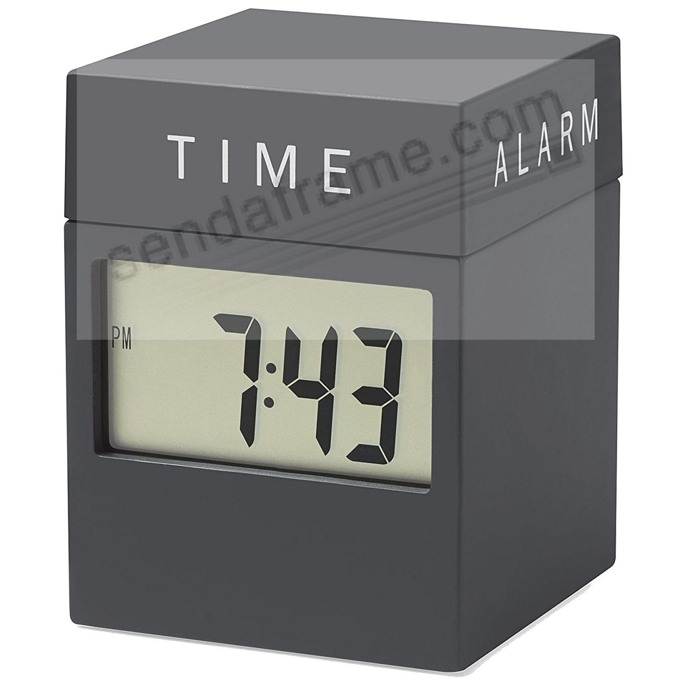 The original 4-in-1 TWIST CLOCK from the MoMA® Collection