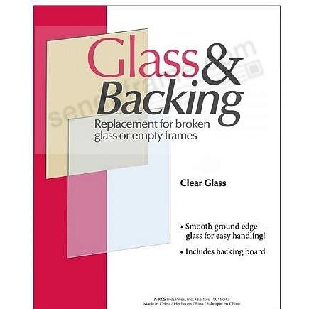 GLASS AND BACK 5x7 Replacement Kit by MCS (sold in 3's)