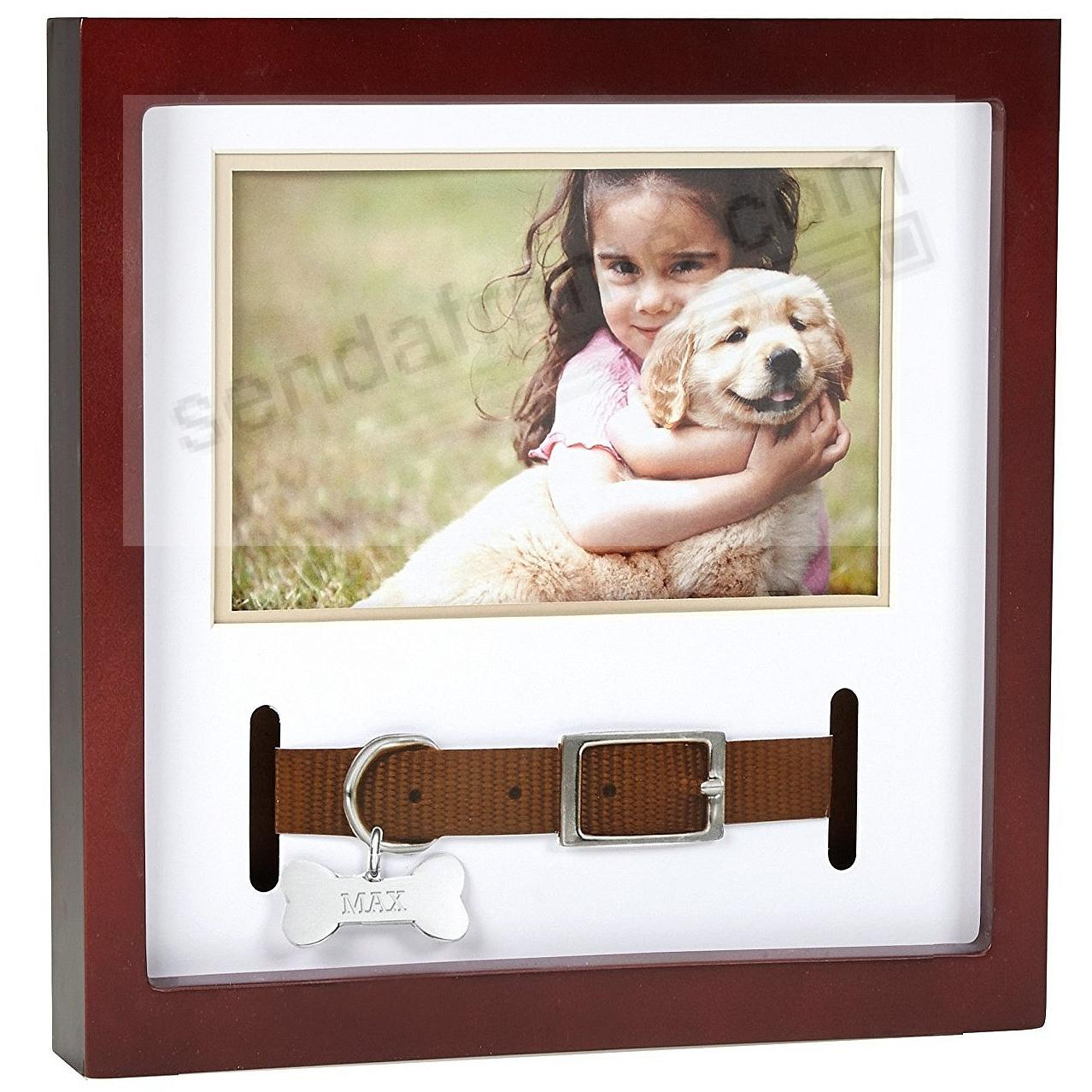Pawprints® COLLAR FRAME Expresso-Brown Stain Wood
