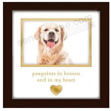 Pet Memorial Frame by Pawprints® - Picture Frames, Photo Albums ...