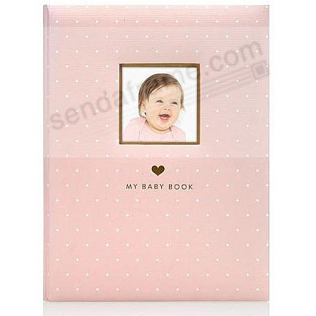 Little Blossoms PINK SWEET WELCOME BABY BOOK by Babyprints®