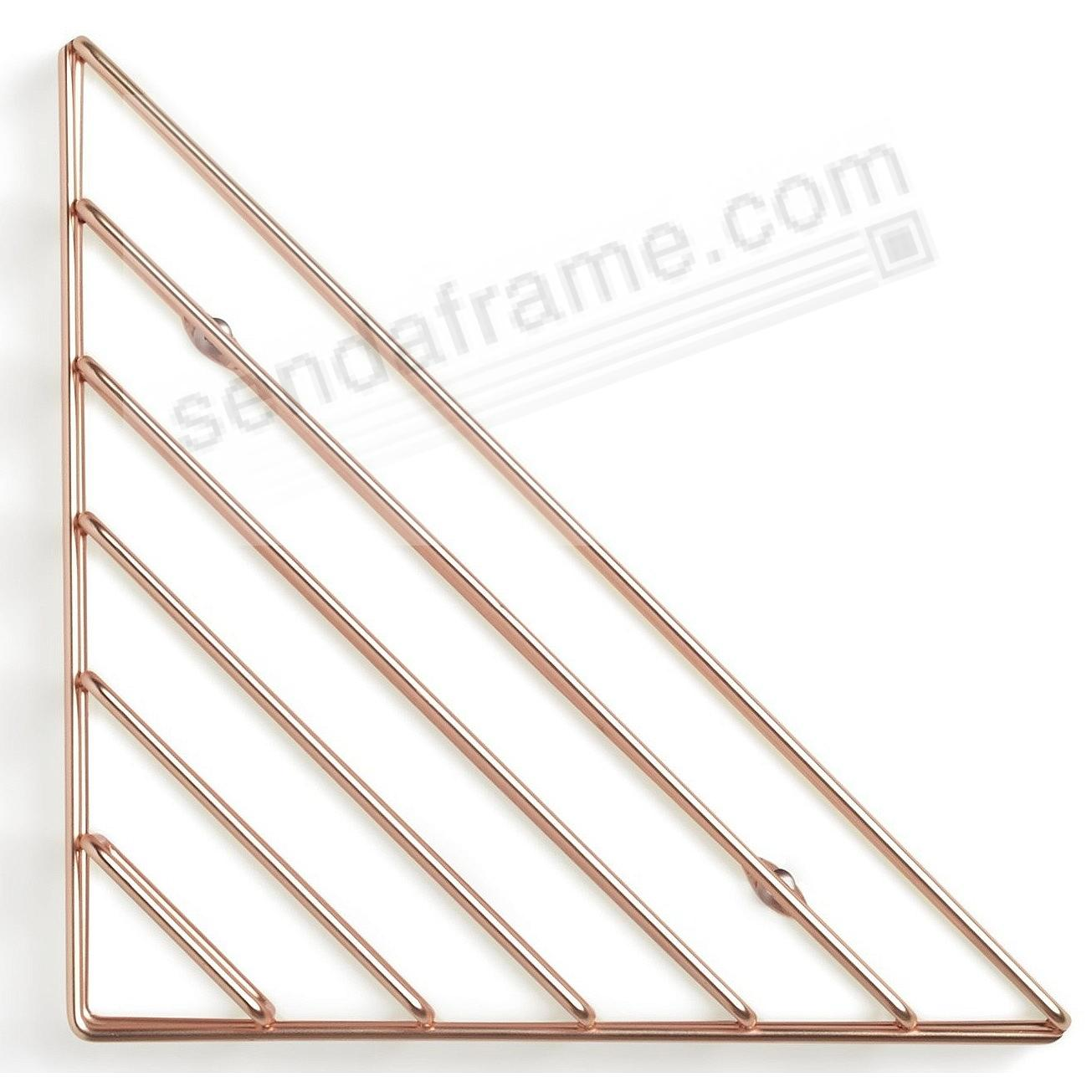 The Original STRUM COPPER WALL SHELF by Umbra®