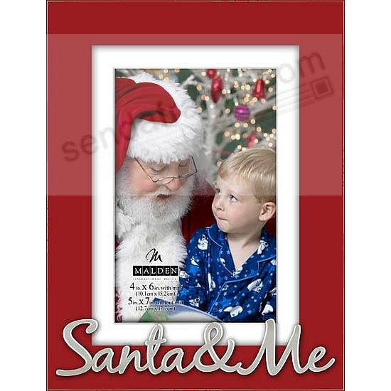 santa me 2017 red expressions frame 5x74x6 by malden design