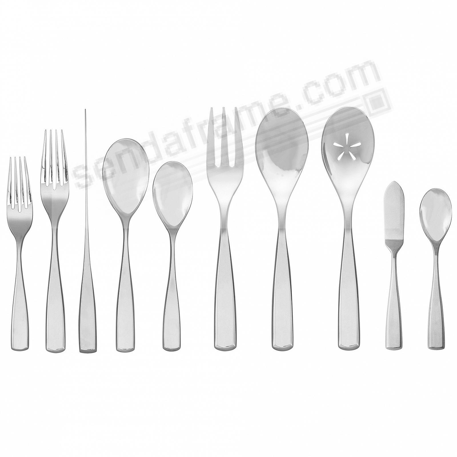 The ANNA 45PC Flatware Set by Nambe®