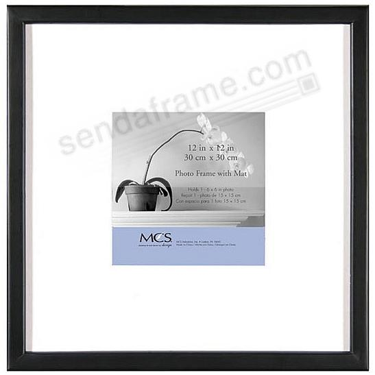 East Village Black Wood 12x126x6 Wall Frame From Mcs Picture