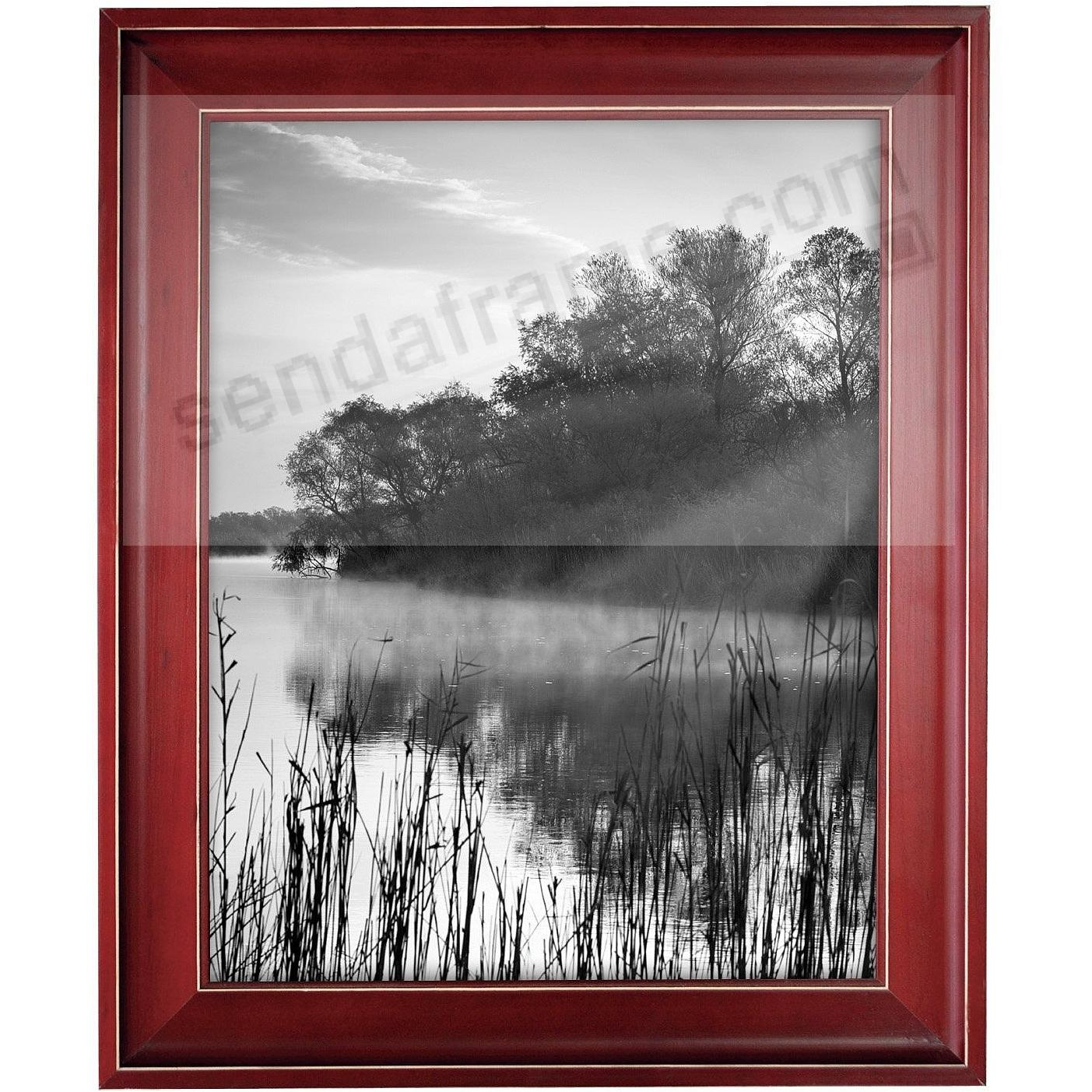 SANDLINE Distressed Wood RED Frame from MCS